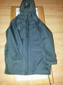 Peter storm rain coat age 11-12yrs - Black