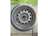 Ford Fiesta steel wheel with tyre 185/65/14