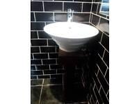 Designer bathroom suite