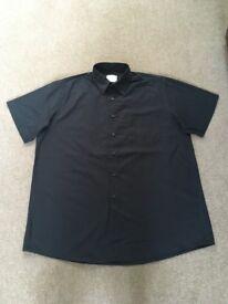mens B&C collection black shirt,size xl,£2.50