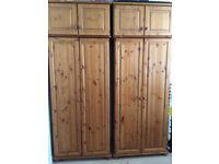 2 Bedroom Wardrobes and 2 chests of drawers