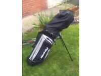 Mixed golf set and stand bag £40 ono