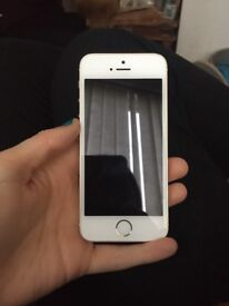 Faulty IPhone SE 32gb Rose Gold
