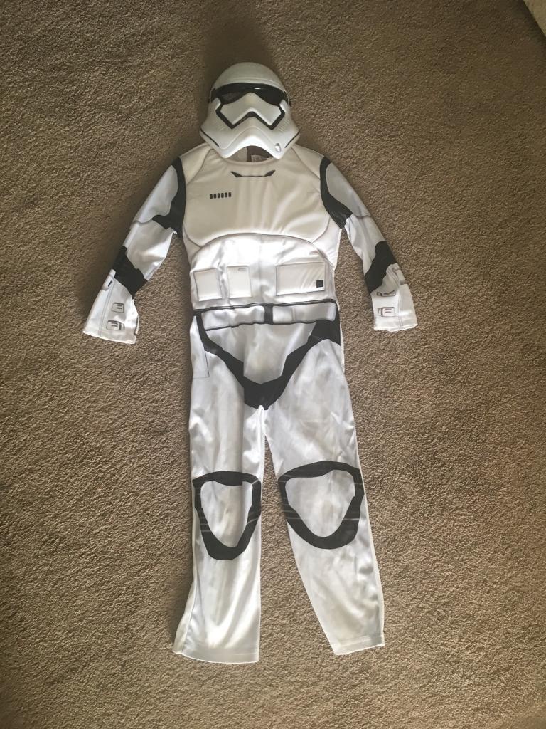 Storm trooper costume