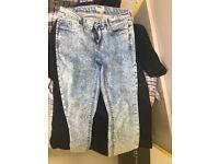 Skinny jeans size w28 h30