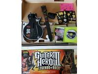 Guitar hero 3 game and controller