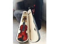 X2 Full size wooden violins