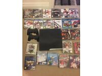 160gb PS3 and games