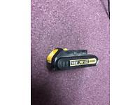 Dewalt XR Li-ion 1.5 Ah baterry, perfect working condition