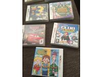 DS Games assortment