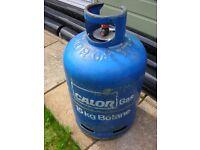 EMPTY CALOR GAS EXCHANGE BOTTLE 15KG BLUE BUTANE COLLECTION PINXTON NG16 6HA