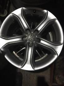 """17"""" Audi Alloys no Tyres £110"""