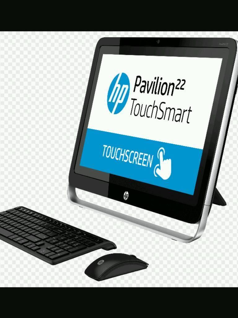 Hp pavilion 22- H040EA Touchsmart All-in-one Desktop pc