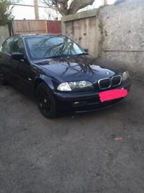 BMW 320i automatic breaking