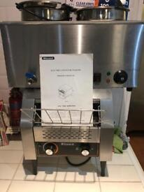 Blizzard electric conveyor toaster