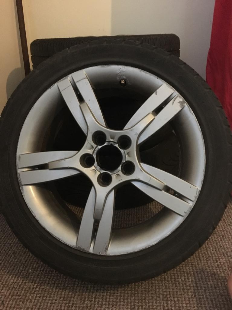Set of Ibiza FR wheels