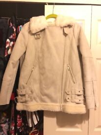 Brand New never worn River Island Suede Coat