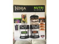 Ninja nutri chef, nutri bowl 1200w food processor. NEW
