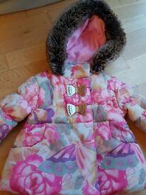 Baby girl warm jacket