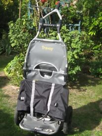 Burley Travoy Bycicle Luggage Trailer