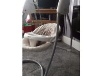 Graco baby swing immaculate cond suitable from birth.