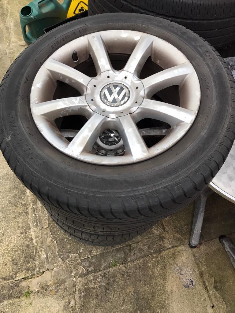 15 Passat wheels with good tyres