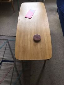 MIDCENTURY COFFEE TABLE - oak, 60's + free rug & lamp! PU this Bank Holiday!
