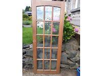 internal wooden 15 pane doors