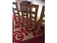 4 GOOD QUALITY DINING CHAIRS FOR SALE