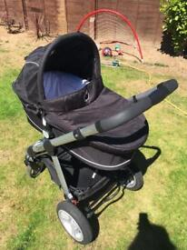 Complete iCandy Apple pram and pushchair set