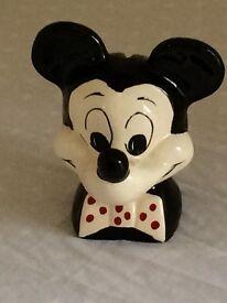 Vintage Mickey money box