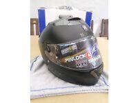 New motorcycle helmet. Shark Speed - R Dual Black Size Small