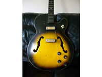 1960 Harmony Rocket vintage electric guitar project