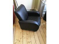 Brown Leather Club Chair For Sale - Edinburgh