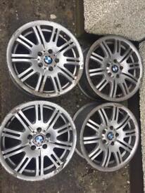 "18"" BMW E46 M3 Alloys 5x120"