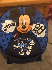 Micky mouse moon chair