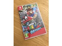 Super Mario Odyssey Nintendo Switch Mint condition