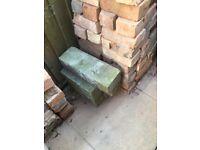 Sand stone walling