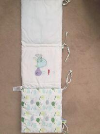 Mamas & Papas Whale bedding set - perfect for nursery