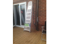 Abru 7 Tread Aluminium Stepladder 3.23M **BRAND NEW**