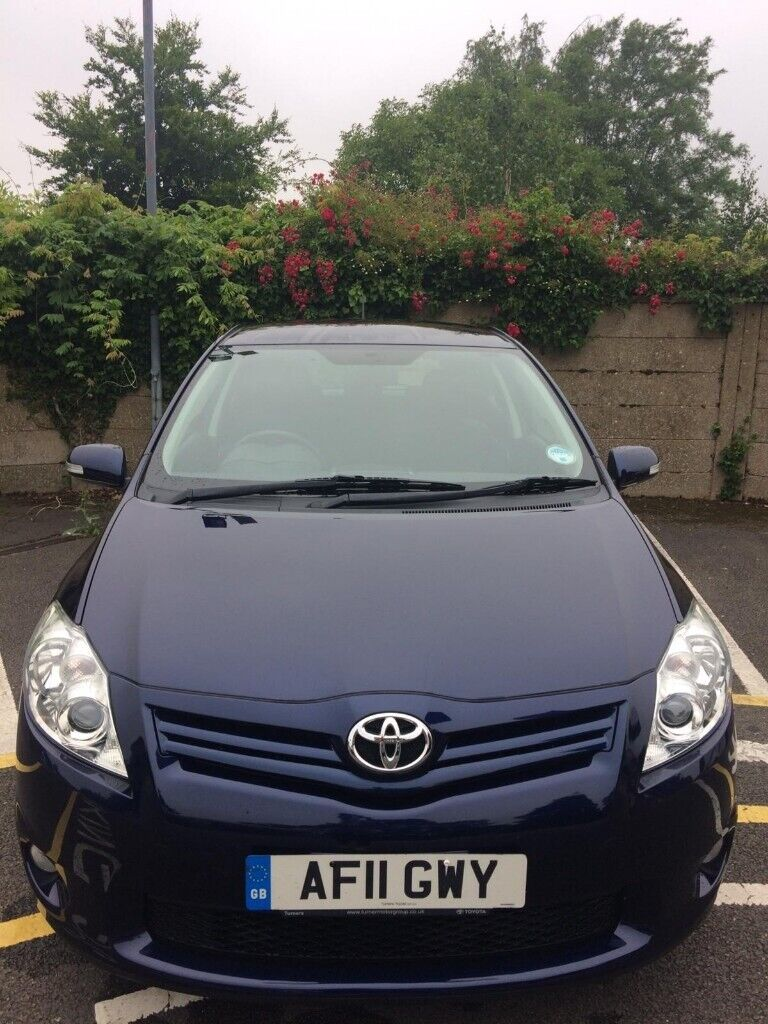 toyota auris for sale, petrol, low mileage, 1 lady owner