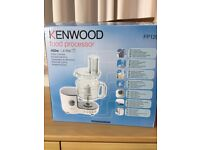 Kenwood FP120 Compact Food Processor - White (New unused)