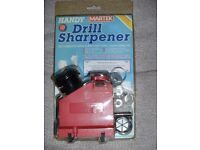 DRILL BIT SHARPENER (New & Boxed)