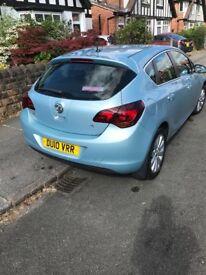 Vauxhall Astra SE 2010 blue