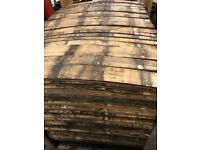 SOLID OAK WHISKY / WHISKEY BARREL STAVES BOURBON SCOTCH - Authentic Rustic