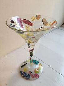 Lolita Flip-Flops Cocktail Glass