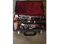 Jupiter JCL-631-II clarinet in case