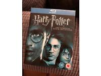 Harry Potter full film collection blue ray