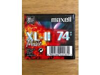Brand New - SEALED - MAXELL 74 Minute MINIDISC