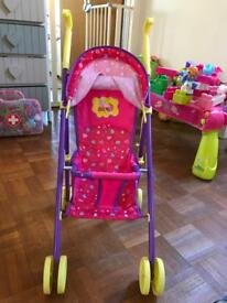 Pepper pig push chair (toy)